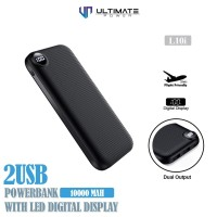 Ultimate Power 2USB Digital Powerbank 10000mAh L10i
