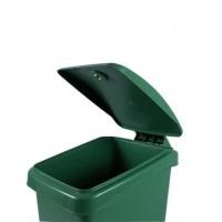 Tempat Sampah Injak Segi 50 Liter Bio Green Leaf 2160