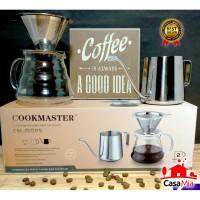 Coffee Maker Set 3Pcs pack-Cookmaster-Casa Mia-CM-1502S