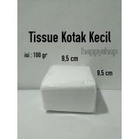 Tissue Kotak Kecil, Tissue Kecil, Tisu Kecil