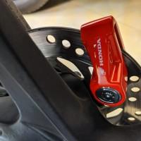 Kunci gembok cakram motor HONDA original AHM Disk Brake Lock Safety