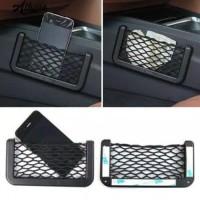 Universal Car Seat Side Back Storage Net Bag Pemegang Pocket Organizer