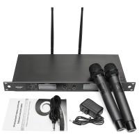 Upstart WEISRE U-6002 Wireless Dual Microphone System for KTV