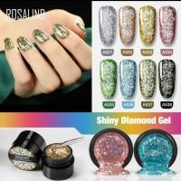 Rosalind Gel Paint/Kutek Gel Shiny Diamond/Nail polish Pot