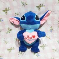 Boneka Stitch Love XL