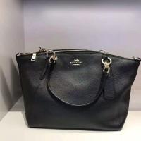 Coach Ava crossgrain leather tote handbag purse shoulder bag