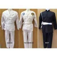 Baju Karate Taekwondo Silat Anak Dewasa - XXL