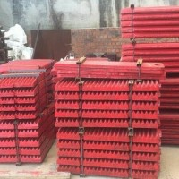 Jaw Plate fix move PE400x600 spare part penghancur batu