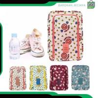 A330 fashion tas wanita pouch sepatu sandal tas travel organizer
