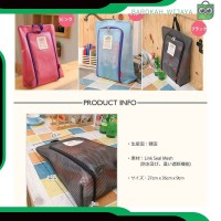A328 fashion tas pouch wanita sepatu sandal tas travel organizer shoes