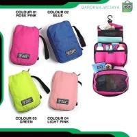 A335 fashion tas wanita kosmetik pouch wanita travel mate tas make up