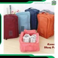 A337 fashion tas pouch wanita sepatu sandal tas travel organizer shoes