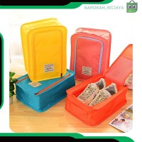 A323 fashion pouch tas wanita sepatu sandal tas travel organizer shoes