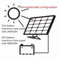 PWM Solar Charge Controller LCD USB 30A 20A 10A Panel Surya Solar Cell