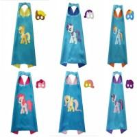 Jubah Kostum My Little Pony   Topeng 1 Set /Mainan Anak My Little