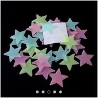 Sticker Glow In The Dark Stars / Bintang - Stiker Dinding/Wall Sticker