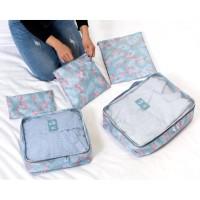 Tas Koper Travel 6in1 Korea Set Laundry Pouch Tas Organizer Bag In Bag