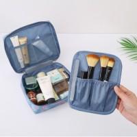 Tas Travel Kosmetik Travelling Pouch Motif Korea Multifungsi