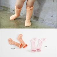 Kaos Kaki Anak Perempuan Panjang Selutut Musim Panas Model Jaring