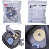Masker Gas Respirator Filter 3M 3200 N95 Pelindung Debu Komplit 3 in
