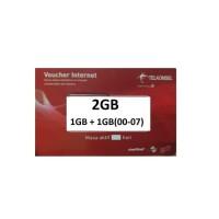 Voucher Telkomsel, Mobile Data Internet, Fisik Gosok, 2 GB