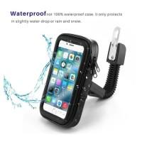 Waterproof Holder Motor SPION Ukuran Hp Sampai 6,3 Inch Gojek Grab