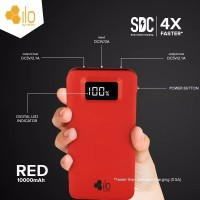HIPO power bank ILO red 10.000 ah spesial edition