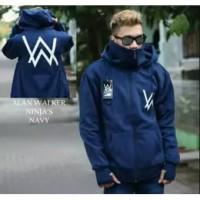 Jaket ALAN WALKER Dewasa Bahan Fleece Tebal