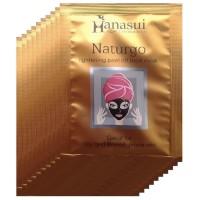 Hanasui Naturgo Masker Lumpur Hitam BPOM - 10 Pcs