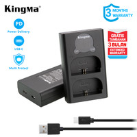 Charger Dual LCD KINGMA LP-E6 /LC-E6 for Canon EOS 80D 70D 60D 7D 5DII