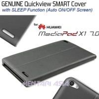 Promo Flipcover For Huawei Mediapad X1 : Genuine Smart Quickview -
