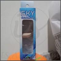 CO2 Diffuser Sky Diffuser with Bubble Counter - Aquascape Difuser CO2