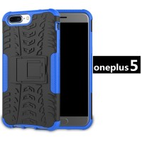 Casing OnePlus 5 / One Plus 5T Rugged Armor Kick Standing Case Cover - ONE PLUS 5, Hitam