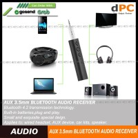 Bluetooth 3.5mm AUX Kit Wireless Audio Adapter Receiver