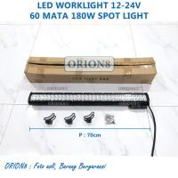 LED Cree Sorot Tembak 60 Mata 180W Light Bar Night Breaker