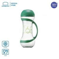 LOCK&LOCK Dumbell Bottle Botol Minum Olahraga 560ml Green HAP505G