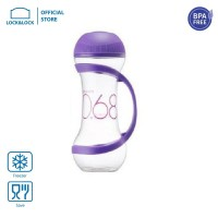LOCK&LOCK Dumbell Bottle Botol Minum Olahraga 560ml Violet HAP505V