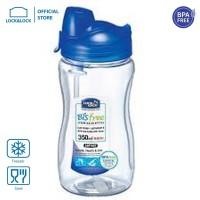 LOCK&LOCK Water Bottle 350ml With Straw ABF708T