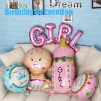 5Pcs Balon Foil untuk Dekorasi Pesta Ulang Tahun Anak