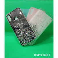 Soft Case Gliter Starfield Shiny Xiaomi Redmi Note 7