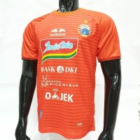 Baju Jersey persija orange away baru 2018-2019