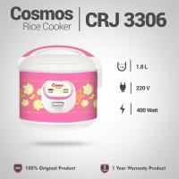 COSMOS Rice Cooker 1.8 Liter CRJ-3306 / Magic Com Pink