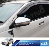 JSL Cover Spion All New Terios 2018 Mirror Cover Chrome