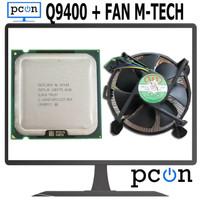Processor Intel CorE2 Quad Processor Q9400 Set FAN LGA 775 M-TECH NEW