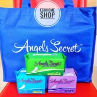 Pembalut Angels secret ion negatif per 1 tas isi 20bgk angel secret