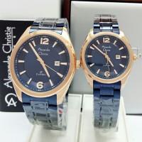 jam tangan couple Alexandre christie original AC 8583 CP