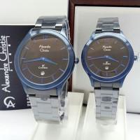 jam tangan couple Alexandre christie original AC 8623 CP