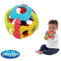 Playgro Shake Rattle and Roll Ball Mainan Bayi Bola Teether