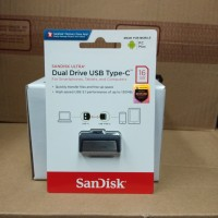 SanDisk Ultra Flashdisk OTG 16GB Type C to USB 3.0 Flash Drive