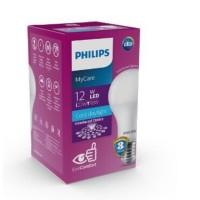 PHILIPS MYCARE 12WATT LAMPU LED BULB EYECOMFORT - PUTIH